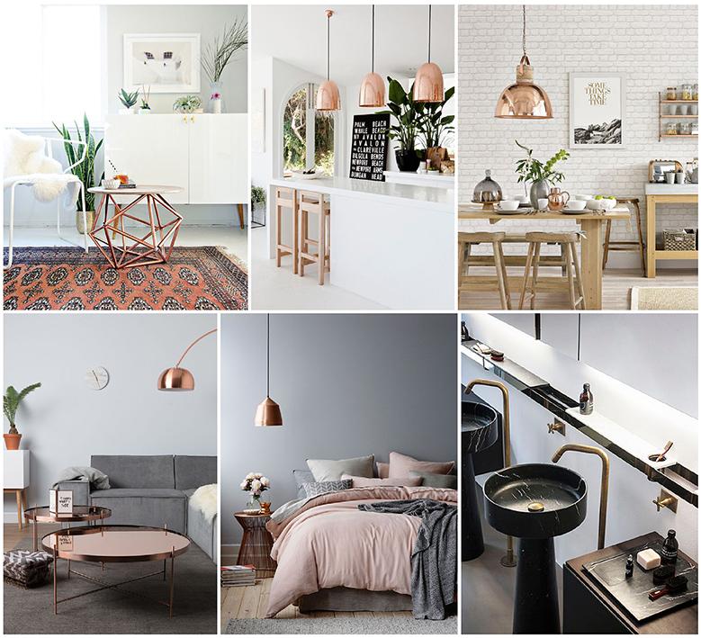 Home Decor Home Lighting Blog 2011: Metal Revival: The Return Of Brass & Copper In Modern