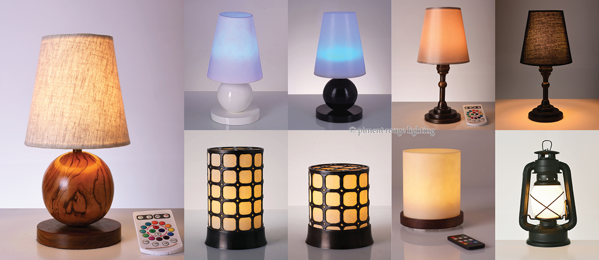 Hospitality Collection: Tiny Table Lamps for a Divine Dinner - Tiny Table Lamps For A Divine Dinner