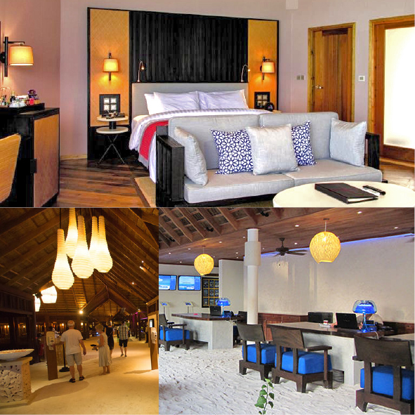 Meeru Island Resorts - Lamps and lighting by Piment Rouge
