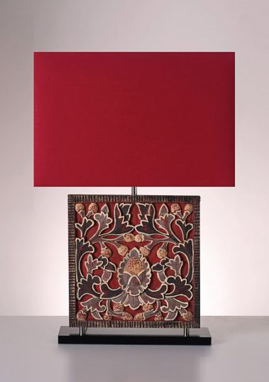 Piment Rouge Lighting Bali - Flower Frame Table Lamp