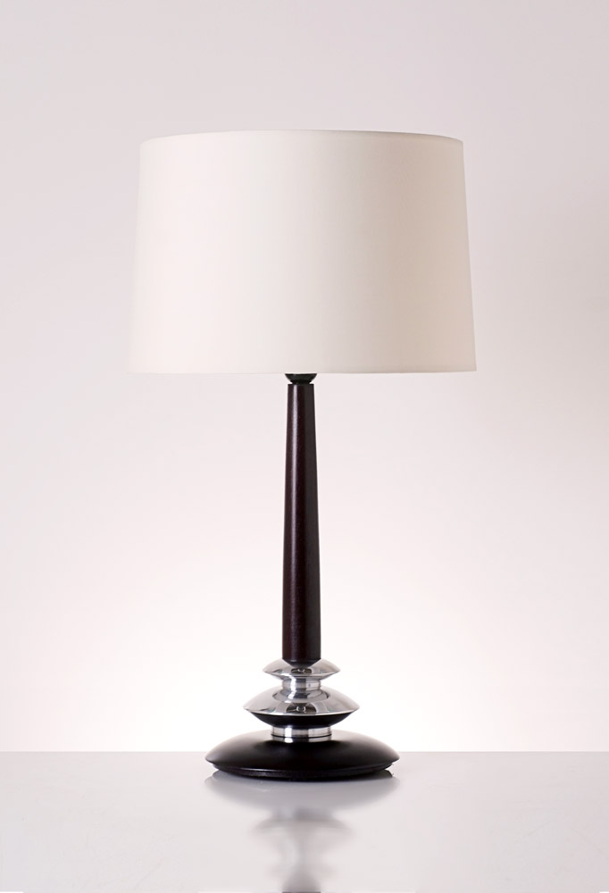 Piment Rouge Lighting Bali - Hamilton Table Lamp in Dark Brown
