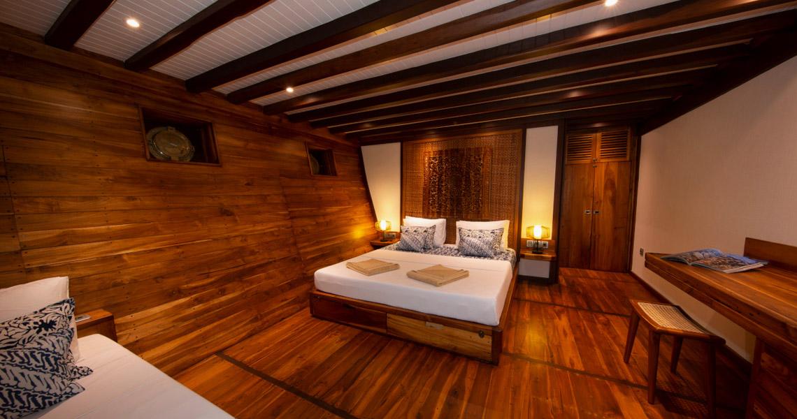 Piment Rouge Lighting Project Portfolio - Coralia Cruise Boat