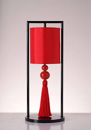 table lamp chester red