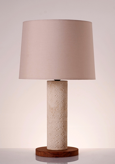 table lamp dili stone
