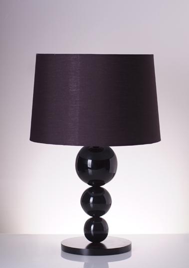 table lamp diva black