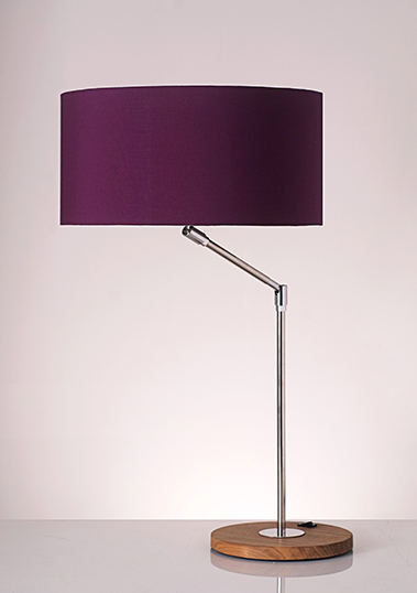 table lamp envol wood