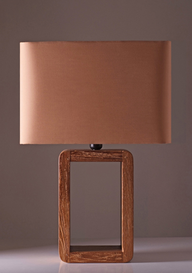 table lamp frame teak long