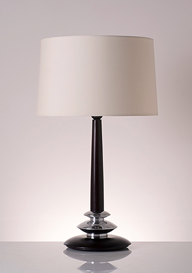 table lamp hamilton dark brown