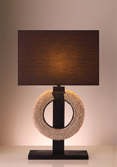 table lamp papua black