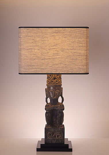 table lamp patung linen