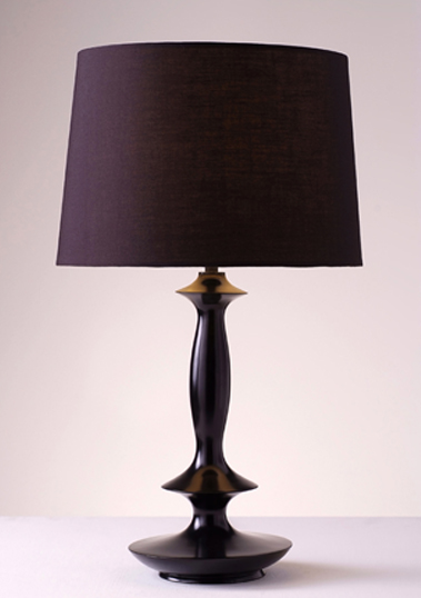 table lamp verdia black
