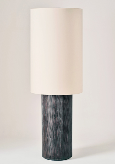 Large Zenwood Floor Lamp by Piment Rouge Lighting Bali