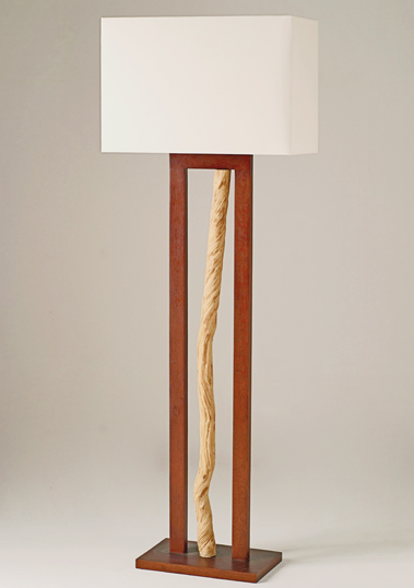 Liana Floor Lamp by Piment Rouge Lighting Bali