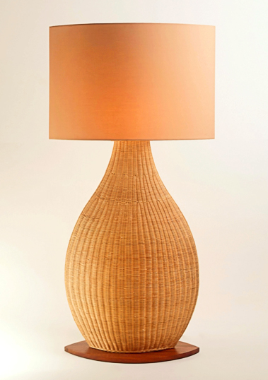 Natural Porto Floor Lamp by Piment Rouge Lighting Bali