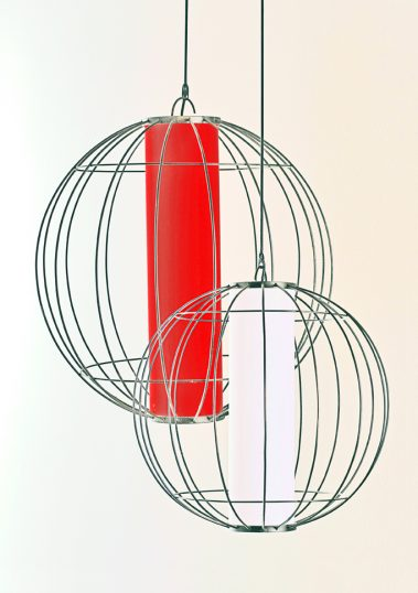 Piment Rouge Lighting Bali - Globe Lantern Pendants