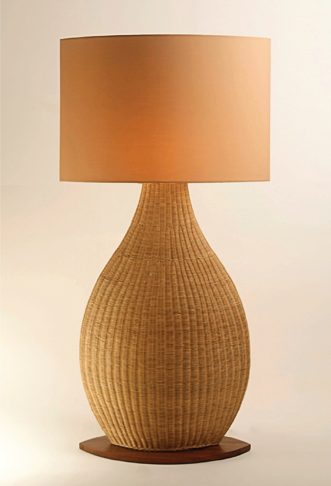 Piment Rouge Lighting Bali - Natural Porto Standing Lamp