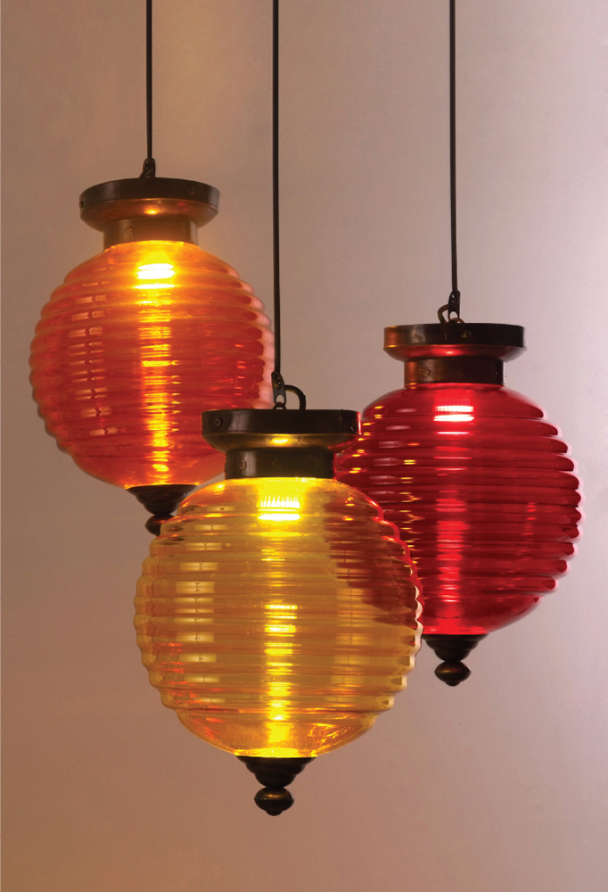 Piment Rouge Lighting Bali - Doria Pendants