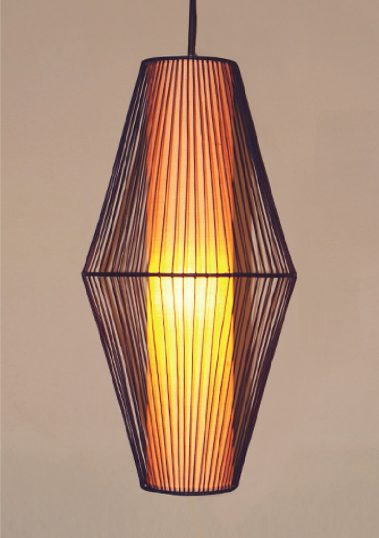 Piment Rouge Lighting Bali - Long UFO Pendant Lamp