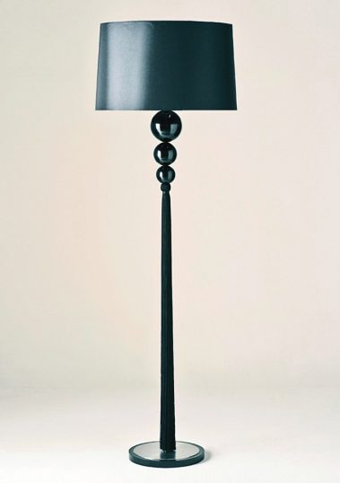 Piment Rouge Lighting Manufacturer Bali - Black Loren Standing Lamp