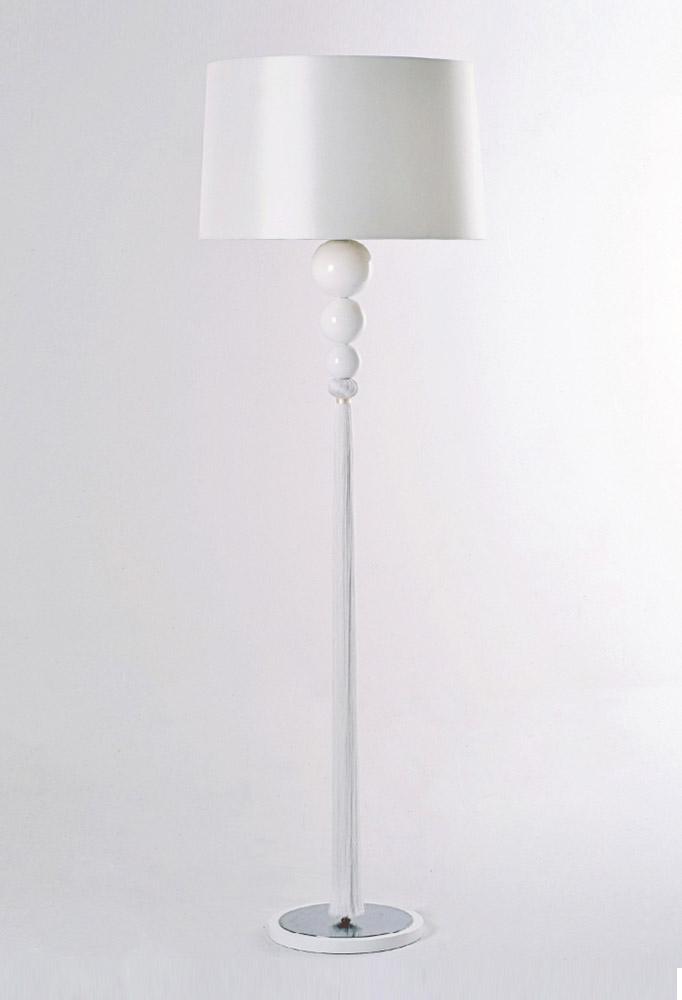 Piment Rouge Lighting Manufacturer Bali - White Loren Standing Lamp