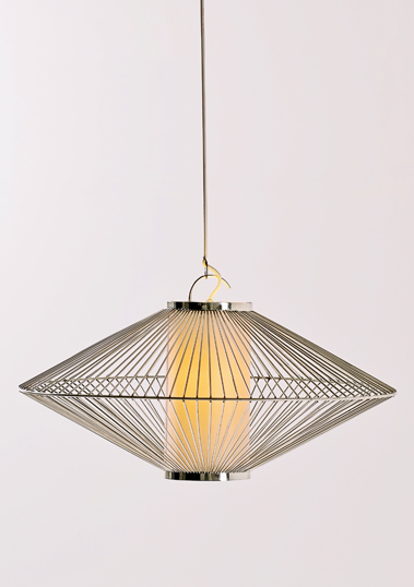 Small UFO Pendant by Piment Rouge Lighting Bali