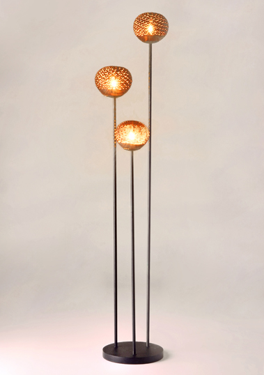 Three Venus Floor Lamp by Piment Rouge Lighting Bali