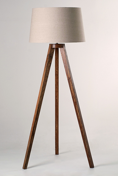 Tripod Floor Lamp by Piment Rouge Lighting Bali
