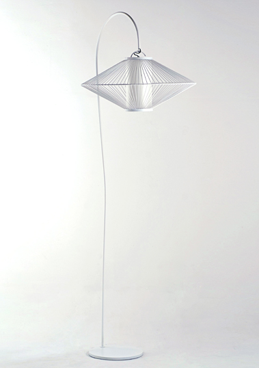 XL UFO Floor Lamp by Piment Rouge Lighting Bali