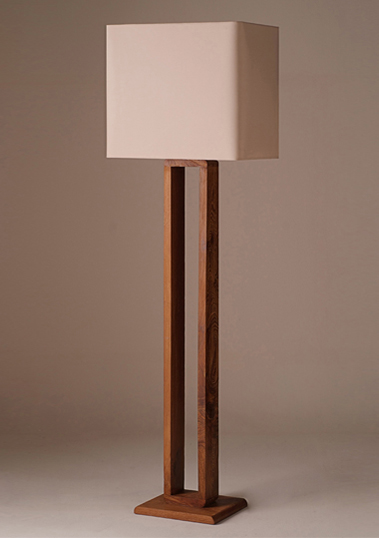 floor lamp frame teak