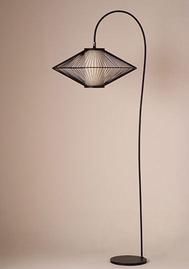 floor lamp ufo xl black