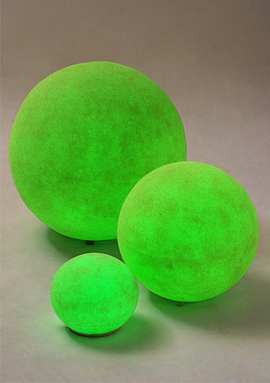 outdoor lamp ball resin led 25