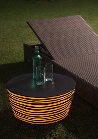 outdoor lamp table resin 12v s