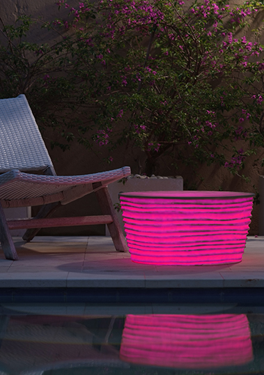 outdoor lamp table resin led s