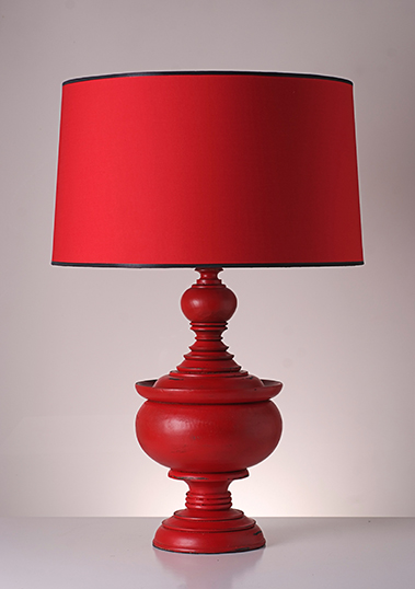 table lamp stupa red