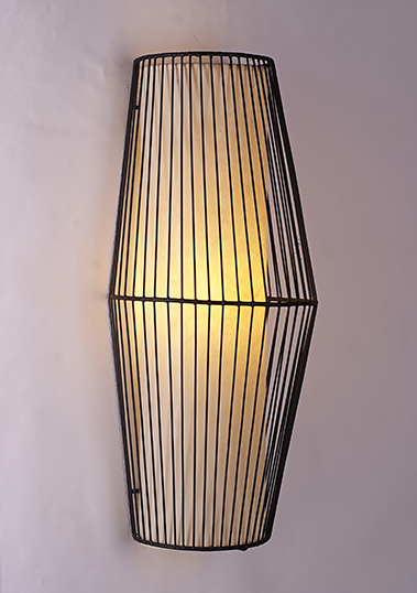 wall lamp iron