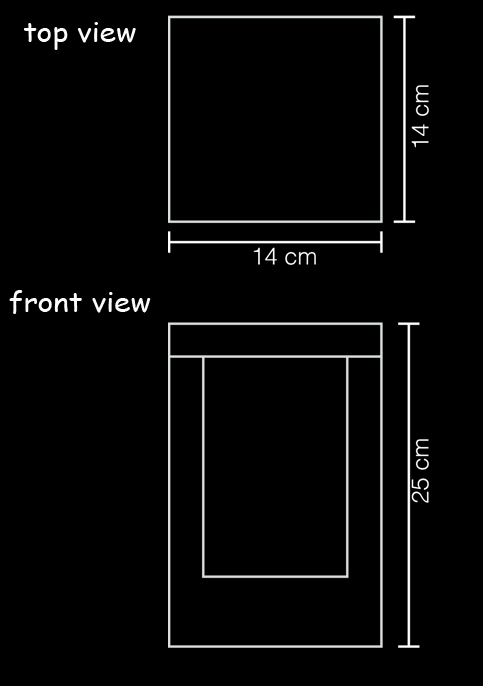 wall lamp number resin technical drawing
