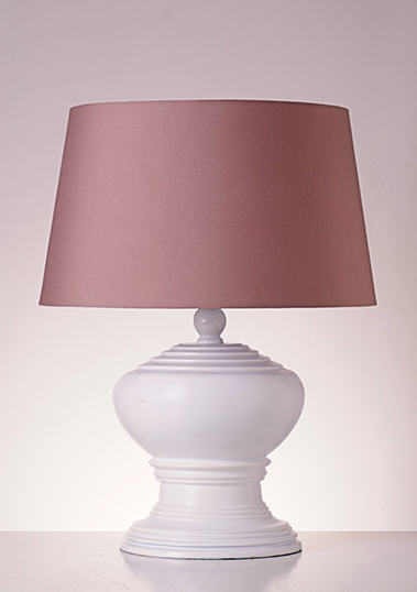 table lamp romano white