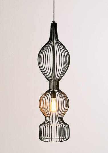 Melody C Pendant by Piment Rouge Lighting Bali