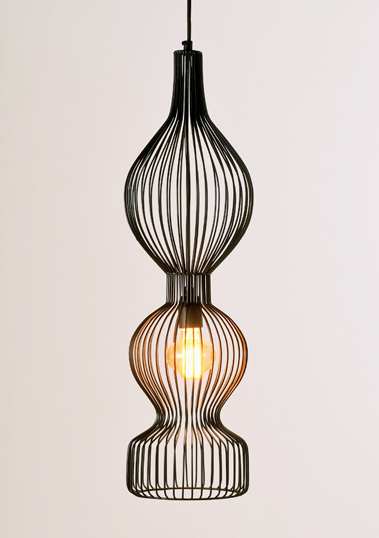 Melody D Pendant by Piment Rouge Lighting Bali