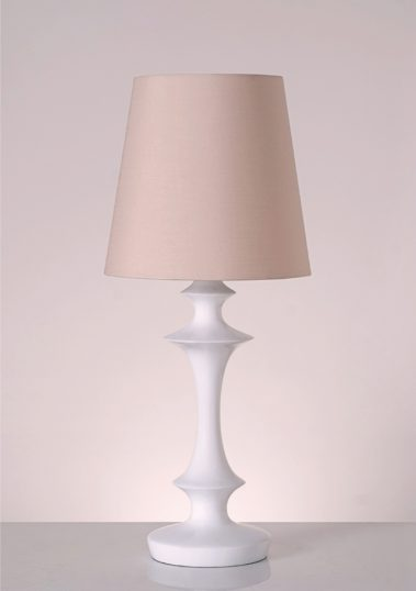 Piment Rouge Lighting Bali - Alexia Table Lamp in White