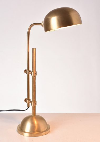 Piment Rouge Lighting Bali - Apothecary Lamp in Gold Polish Finish