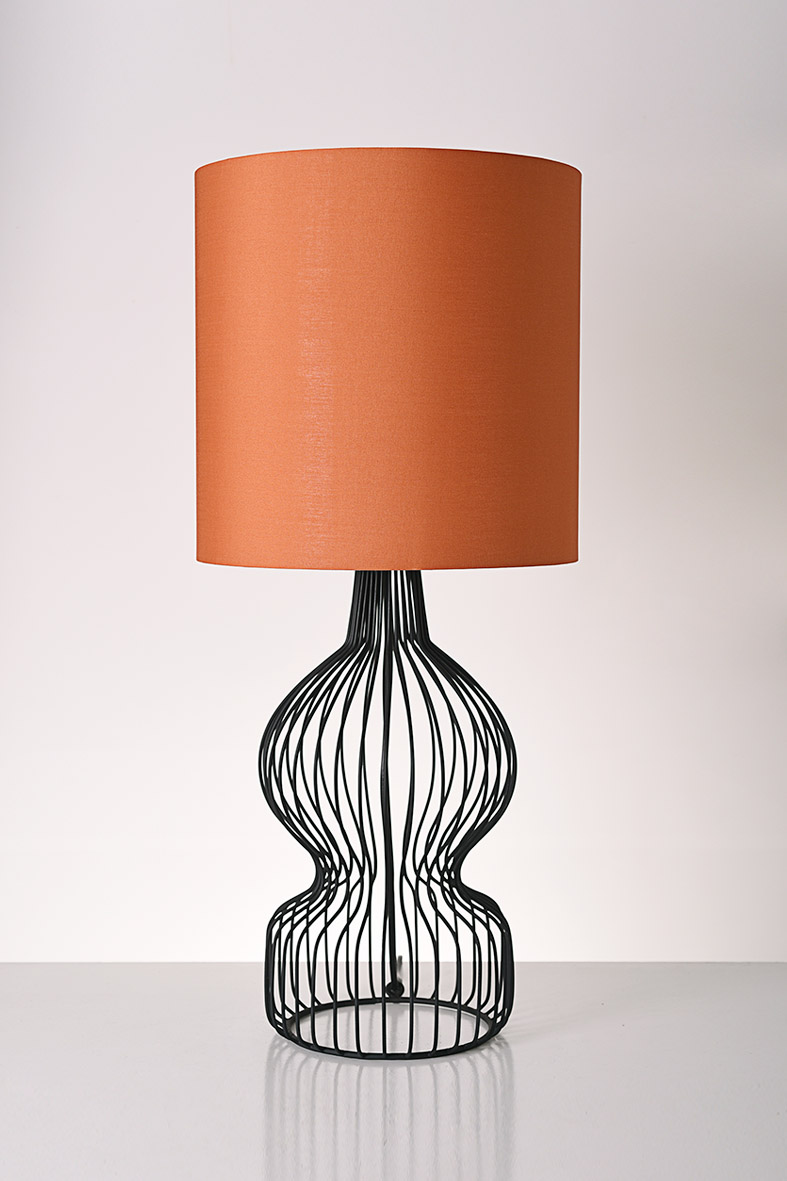 Piment Rouge Lighting Bali - Black Melody Table Lamp