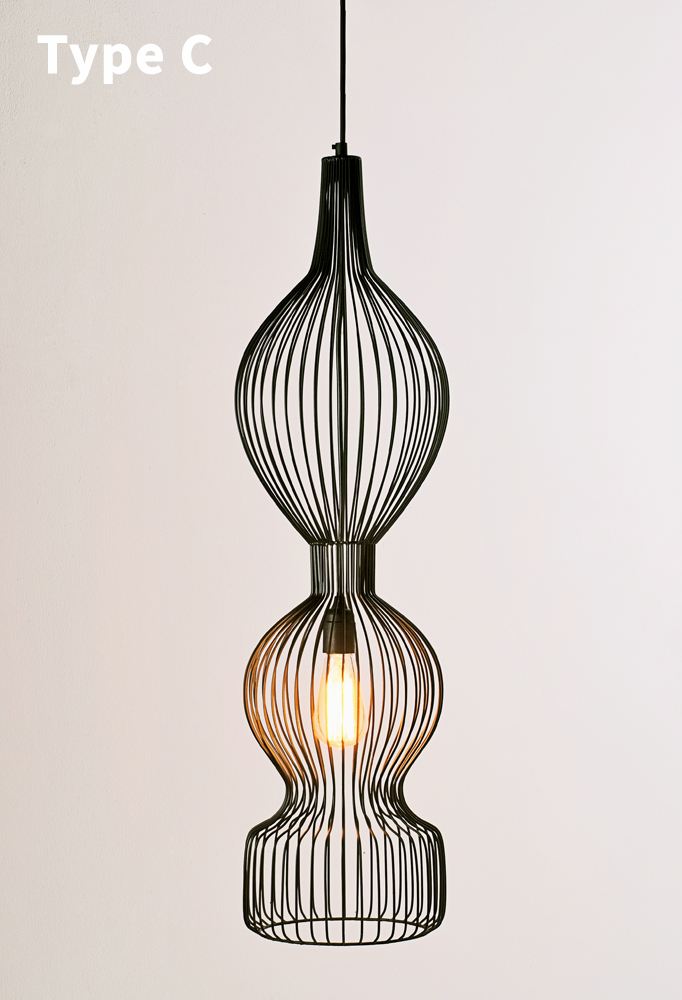 Piment Rouge Lighting Bali - Melody Pendant Lamp - Type C