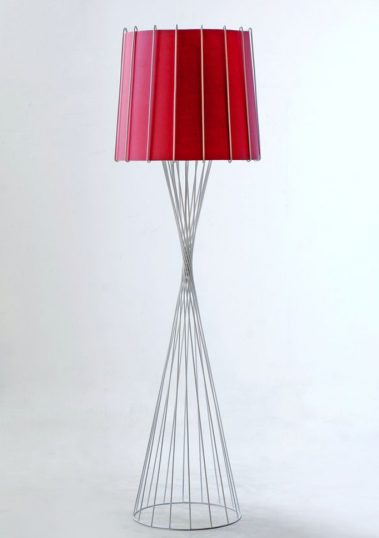 Piment Rouge Lighting Bali - White Rialto Standing Lamp