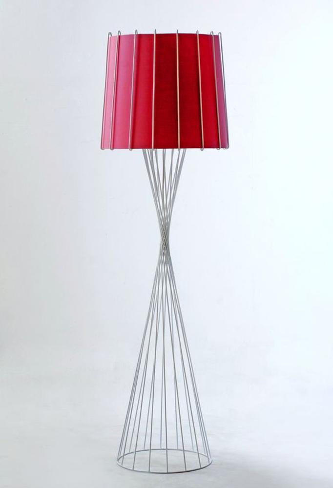 Piment Rouge Lighting Bali - White Rialto Standing Lamp