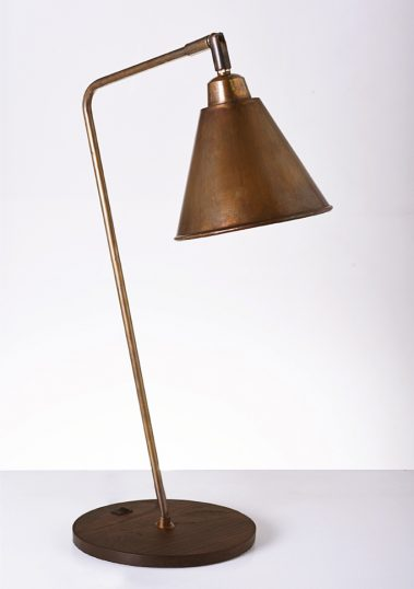 Piment Rouge Lighting Bali - Brass Reading Lamp
