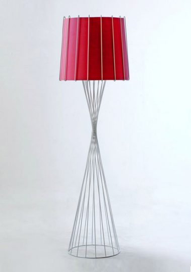 Piment Rouge Lighting Manufacturer Bali - White Rialto Standing Lamp