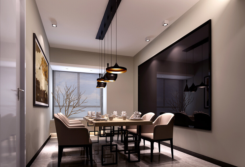 Lighting tips how to light a dining area for Dining room 3d view