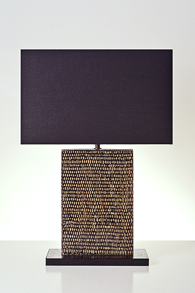 black batik table lamp by piment rouge lighting bali