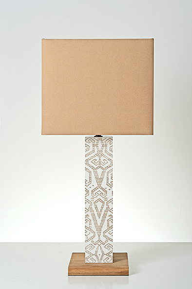 borneo table lamp by piment rouge lighting bali
